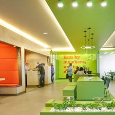 People's Choice Credit Union by Design Clarity Great use of the lime green color!