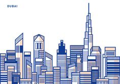 The Skyline Framework by Drishti Khemani, via Behance