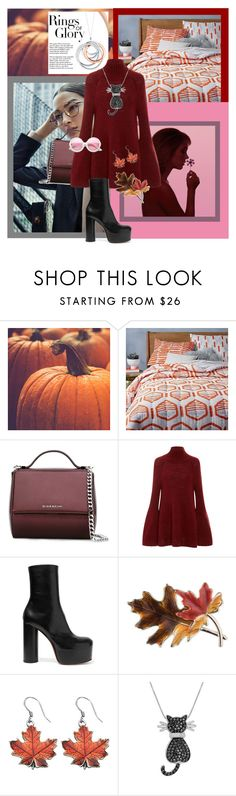 """""""Rings of glory"""" by sugaplump ❤ liked on Polyvore featuring West Elm, Tiffany & Co., Givenchy, Rosetta Getty, Vetements, Anne Klein, Amanda Rose Collection and ZeroUV"""