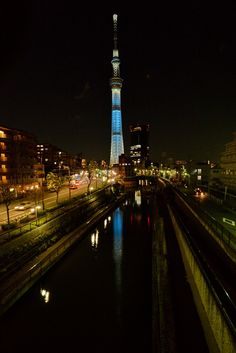 "Landscape with ""Tokyo Sky Tree"" -1 by Ken Ohsawa, via 500px"
