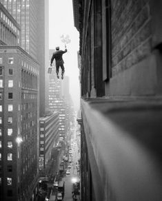 Award winning American photographer Geof Kern takes our world and turns it upside down. Inspired by post-modernist painters and cinematic actors/directors such as Buster Keaton and Jean-Luc Godard, Kern's storytelling style has an artistic as well as a deadpan nature to it. His black-and-white photos may remind you of another Met favorite, Rodney Smith, in that both have the ability to create timeless photos that, on closer inspection, seem slightly surreal.