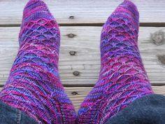 Ravelry: Leyburn Socks pattern by MintyFresh