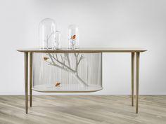 Tafel en vogelkooi in één Roomed | roomed.nl