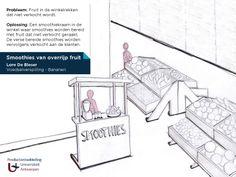Instore Smoothies producent maakt gebruik van moeilijk verkoopbaar overrijp fruit Lore De Blesser - Universiteit Antwerpen