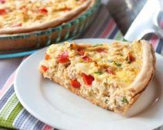 Tarte au poulet et poivron au curry : http://www.fourchette-et-bikini.fr/recettes/recettes-minceur/tarte-au-poulet-et-poivron-au-curry.html
