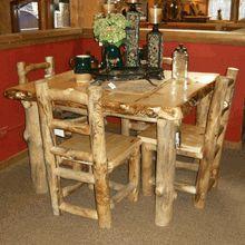Evergreen Aspen Log table