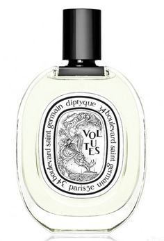 Volutes by Diptyque perfume. Lovely iris tobacco scent with amber, very very chic.