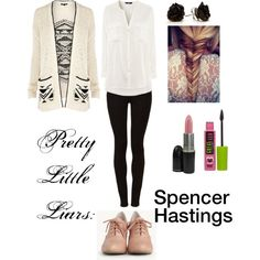 Pretty little liars: Spencer Hastings - Polyvore