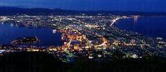 函館山夜景是世界三大夜景之一。(網上圖片)