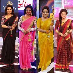 Blouse Neck Patterns, Cotton Saree Blouse Designs, Plain Kurti Designs, Simple Blouse Designs, Red Carpet Dresses 2016, Designer Party Wear Dresses, Saree Trends, Saree Models, Stylish Sarees