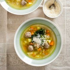 """Some cookbooks call it zuppa santé di nonna Carolina""—Grandma Carolina's santé soup."
