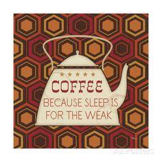 Caffeine III Giclee Print by Pela Studio at AllPosters.com