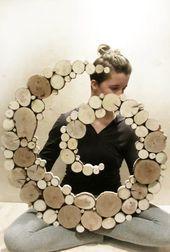 Boho Zen Meditation Spiral Garden Art Sculpture Repurposed Recycled Wood slice sculpture Tree slice abstract shape free form wall art – All About Zen Meditation, Tree Slices, Wood Slices, Wooden Art, Wood Wall Art, Spiral Garden, Wood Slice Crafts, Recycled Wood, Recycled Garden