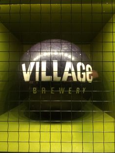 The Village Bowling ball lives at National 10th in Calgary. Waiting for the twinkle toed individual daring enough to strike!