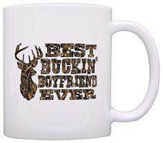 Country Gift for Boyfriend Best Buckin' Boyfriend Ever Wood Camo Gift Coffee Mug Tea Cup White ThisWear http://www.amazon.com/dp/B017DM0L38/ref=cm_sw_r_pi_dp_MNvPwb18J7GYN