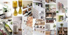 ¡Fans del reciclaje! Hay materiales que podemos reutilizar para decorar nuestro hogar con estilo. Estas son algunas ideas.