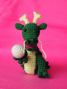 Its a Dragon!!! Free crochet pattern