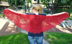 Ravelry: PirateRed's Genius, Billionaire, Playboy, Philanthropist.     Pattern: Take Flight! by Kristi Holaas.