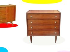 COMMODE VINTAGE ANNEES 60 / 70