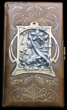 mererecorder:  Art Nouveau photograph album c1900