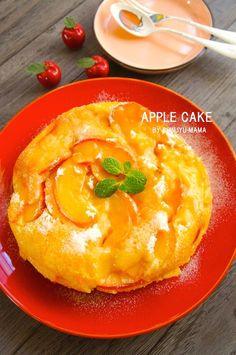 [簡単!炊飯器で!]とろとろジューシーな♪りんごケーキ ※チビ珍獣との調理動画です   珍獣ママ オフィシャルブログ「珍獣ママのごはん。」Powered by Ameba