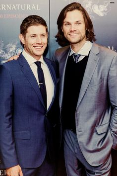 Jared and Jensen [1/2] [200th episodes party ➡redcarpet] [credit]