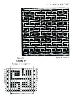 Mosaico Knitting Barbara G. Walker (Lenivii gakkard) Mosaico Knitting Barbara G. Walker (Lenivii gakkard) # 27