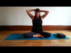Séquence de yoga hatha pour le dos, les épaules et le cou - YouTube