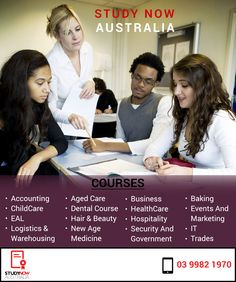 Study Now Australia provides many short term #DiplomaAndCertificateCourses as they are mostly short in duration and provide specific #JobBasedEducation.