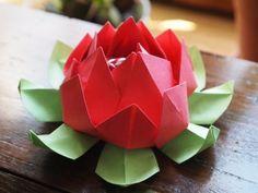 liens chéris : les fleurs   origami, kirigami and paper flowers