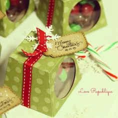 #christmas #gift #goodies #handmade #chocolates #loverepublique
