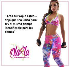Toda mujer cuenta con su propia esencia y estilo. Ola-la Ropadeportiva, el estilo de la mujer de hoy, casual, cómodo, deportivo y sexy.  http://www.ola-laropadeportiva.com/…/14-conjunto-deportivo-…  #Fitness #Crossfit #Martes #Olalaropadeportiva #Colombia