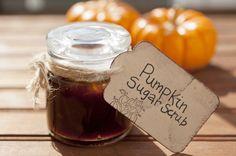 Pumpkin Sugar Body Scrub