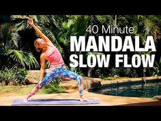 45 Minute Power Vinyasa Flow Yoga - Five Parks Yoga - YouTube