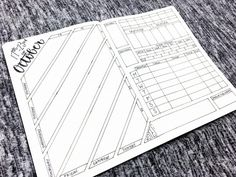 Bullet Journal Layout - October 17-23, 2016: Spread template downloads, videos, and more at bulleteverything.com