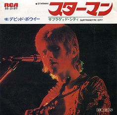"David Bowie - Starman (Japanese 7"")"