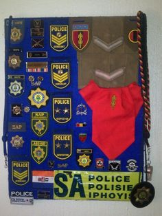My police stuff the pride i have Police Sergeant, My Land, Previous Life, Africans, Cold War, Law Enforcement, South Africa, Crime, Patches
