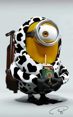 minions never mentioned they loved milk