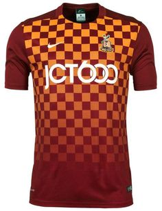 These are the new Bradford City shirts Bradford s new home and away tops  for the upcoming League One season. Made by Nike f16a0ca3176ca