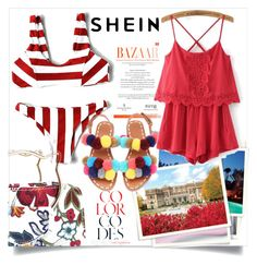 """shein"" by sincerel ❤ liked on Polyvore featuring WithChic"