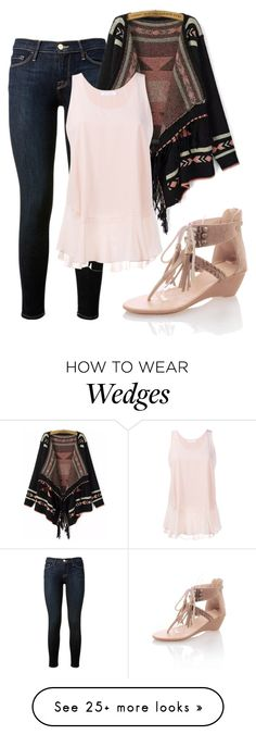 """""""Day-to-Day Style"""" by aowens99 on Polyvore featuring Frame Denim, Chloé and JY Shoes"""