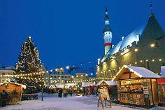 Christmas Market in Talin, Estonia
