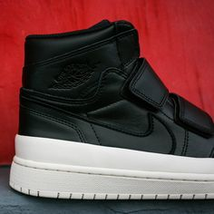 The Air Jordan 1 Double Strap Is Available In Black And Sail 1442fb2616
