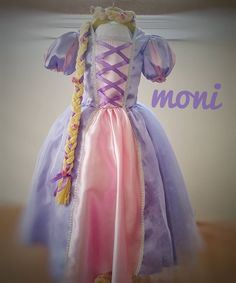 Rapunzel Costume by monikids on Etsy