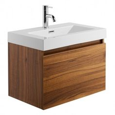 The decor options for your contemporary bathroom do not have to be limited due to room size. This Darcey Oak Effect Wall Hung Drawer Unit with Basin offers you an extremely functional and practical everyday object which is certain to enrich yo Bathroom Furniture, Bathroom Ideas, Wall Hung Vanity, Drawer Unit, Bathroom Basin, Vanity Units, Everyday Objects, Amazing Bathrooms, Drawers
