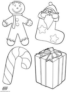 free printable holiday coloring page one four christmas pictures to color a gingerbread