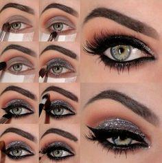 Tutoriales de maquillaje de noche