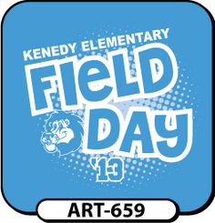 Field Day Logo + T-shirts by Christie Morrison, via Behance ...