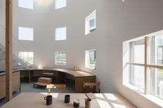 Built by Tato Architects in , Japan with surface 106.0. Images by Shinkenchiku sha. We have designed many landings. It is a place floating in the air, from which you can look back to where you were jus...