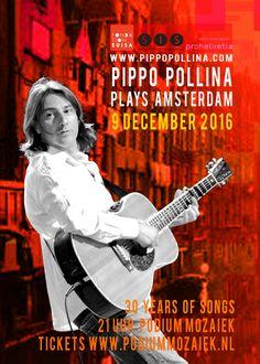 Pippo Pollina. Te gast bij Podium Mozaïek op 9 december 2016